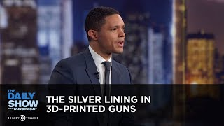 The Silver Lining in 3D-Printed Guns - Between the Scenes | The Daily Show