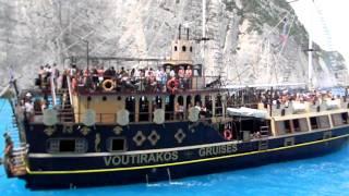 Insula Zakynthos - Plaja Navagio