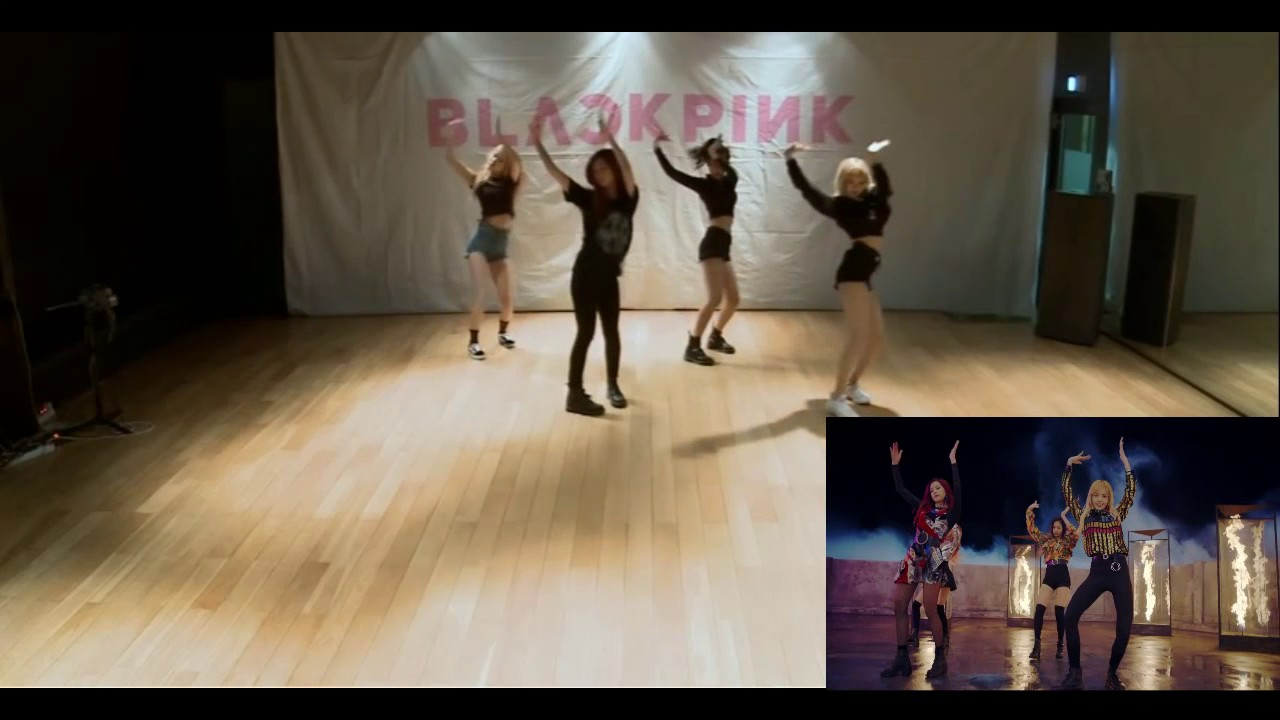 Blackpink Mirrored Dance Practice Playing With Fire