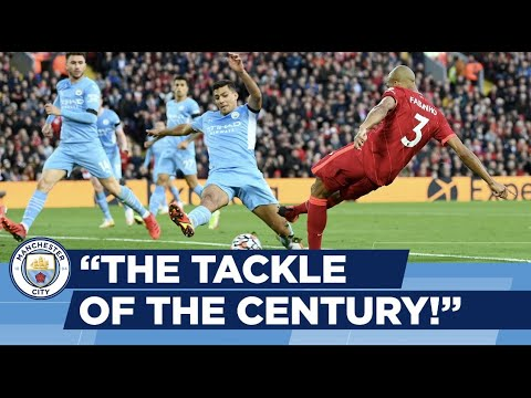 Tackle of the century?  |  Rodri's block against the best moments of the city!