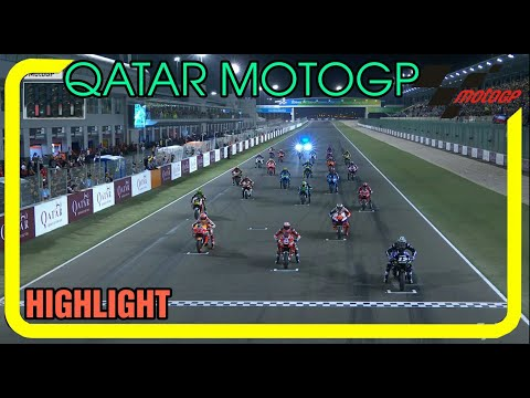 Qatar MotoGP Race Highlight Round 1
