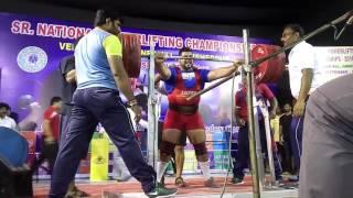 440kg in senior national 2016