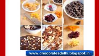 Homemade Dry Fruit Chocolates - Best Delicious Almond / Cashew Nuts Chocolates In Delhi / Gurgaon.