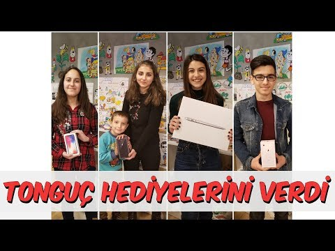 Tonguç Hediyelerini Verdi - iPhone X, iPhone 8+, iPhone 8 ve MacBook