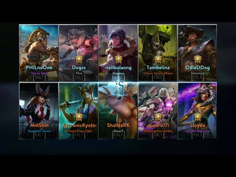 VAINGLORY [Exaltia] Guild Scrim May 14, 2019