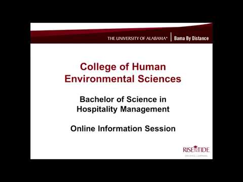UA's BS in Hospitality Management