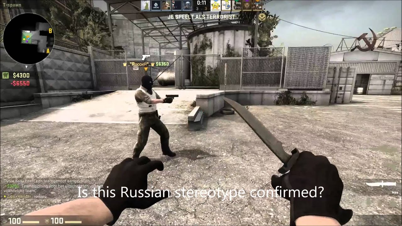 Russisk matchmaking cs go