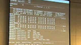 22C3: Understanding buffer overflow exploitation