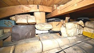Man That Uncovers A Concealed Room In His Old Attic Is Staggered By What He Found