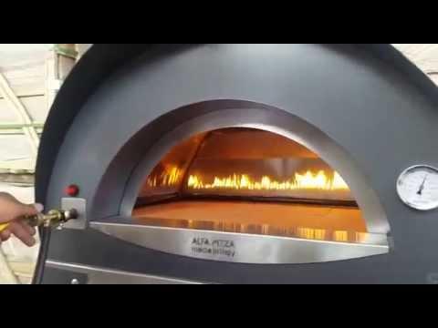 Alfa Pizza Ciao With Gas Burner