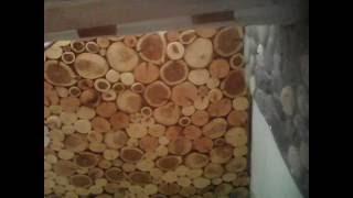 видео Отделка потолка деревом