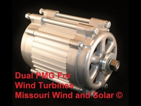 Wind turbine Freedom II Pmg permanent magnet generator latest on the market