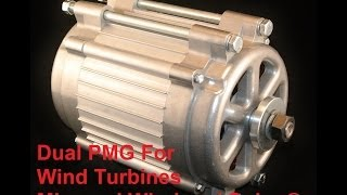 Wind turbine Freedom II Pmg permanent magnet generator latest on the market