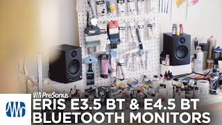 PreSonus Eris Bluetooth Monitors: E3.5 BT and E4.5 BT