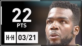 Paul Millsap Full Highlights Nuggets vs Bulls (2018.03.21) - 22 Pts, 5 Stl, 8 Reb!