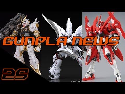 MG Gold Frame, Weiss Duo, New GN-X! | Gunpla News September 2017 ep. 2