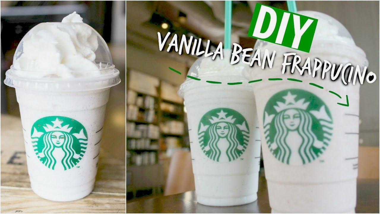 Diy Starbucks Vanilla Bean Frappuccino