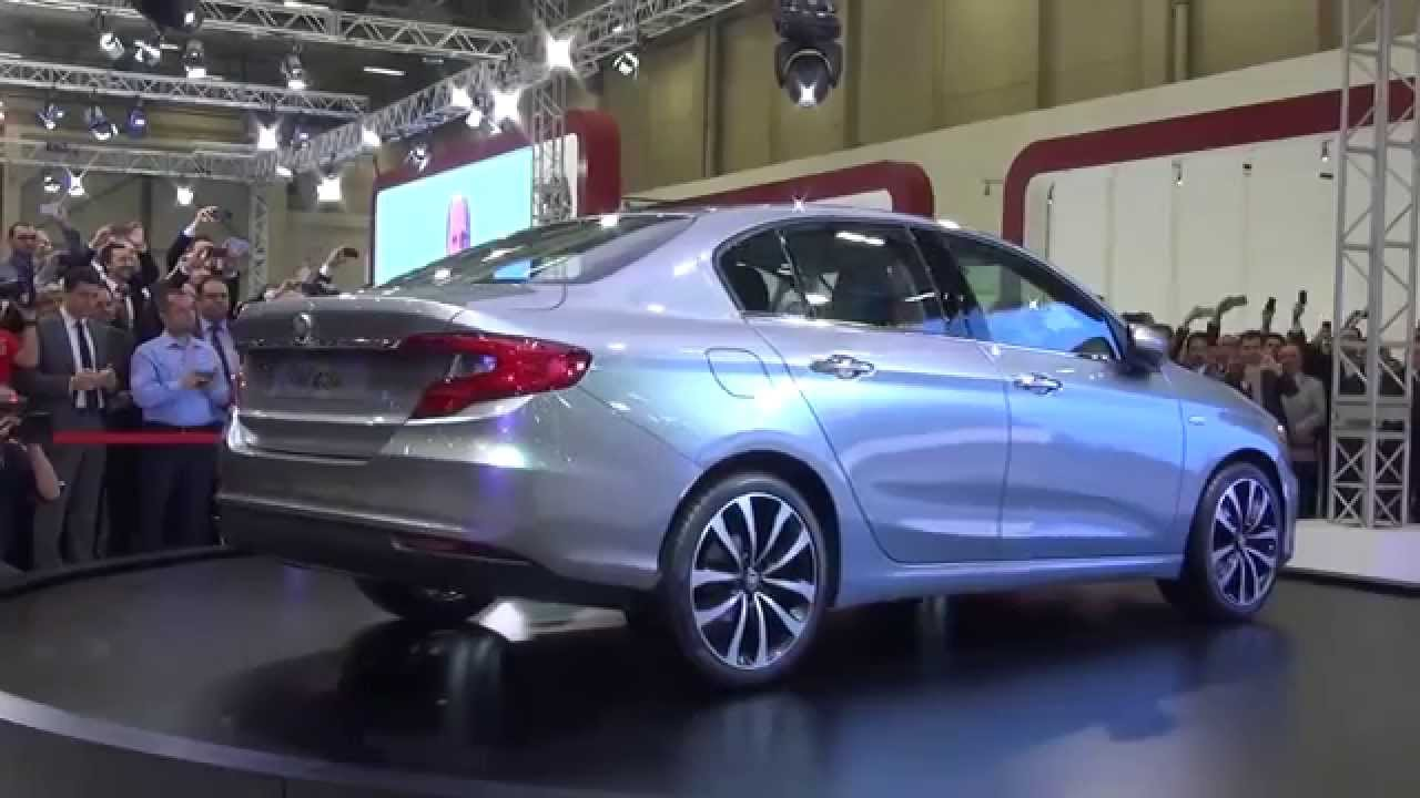 Yeni TOFAŞ Fiat AEGEA Podyumda - YouTube