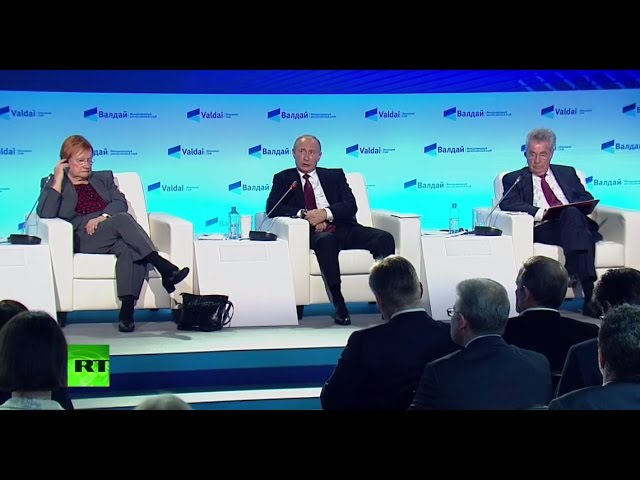 LIVE: Putin takes part in Valdai conference in Sochi (Q&A)