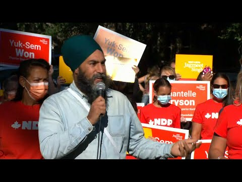 Singh: Trudeau and O'Toole would 'both be bad' for Canadians