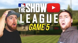 INSANE EXTRA INNING GAME vs  KevinGohD! MLB The Show 18 League - Game 5