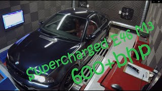 600bhp Supercharged E46 M3 - How it came together