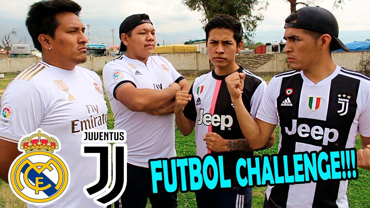 JUVENTUS Vs REAL MADRID ¡Epic Retos de Futbol con CASTIGO! ⚽️