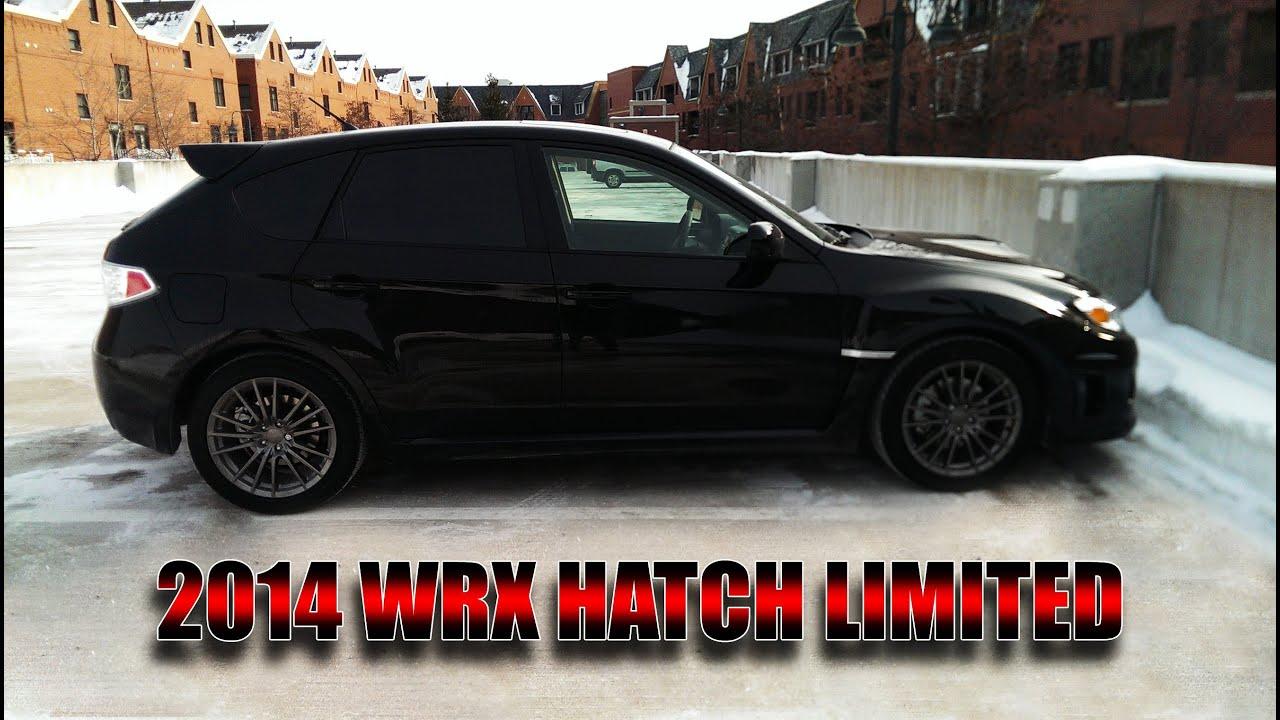 2014 Subaru Wrx Hatchback Limited Review Youtube
