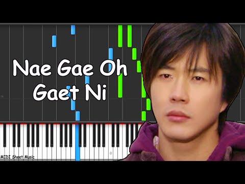 Sad Love Story - Nae Gae Oh Gaet Ni Piano midi