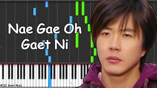 Video Sad Love Story - Nae Gae Oh Gaet Ni Piano midi download MP3, 3GP, MP4, WEBM, AVI, FLV September 2017