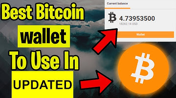 ✅The BEST Bitcoin Wallet (BTC) To Use 2020