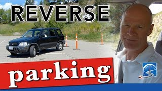 How to Reverse Perpendicular Park with Cones