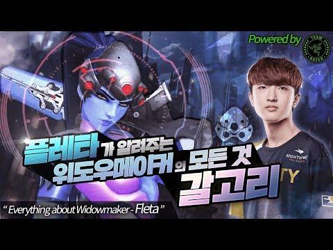 플레타의 위도우 훅샷 강의 | Fleta Widowmaker Tutorial powered by Razer [Seoul Dynasty]