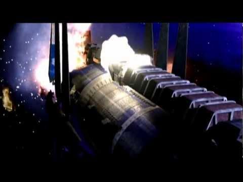 Babylon 5 destroyed