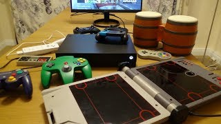 NES, SNES, N64, GC, Wii...All Nintendo Controllers working on the Xbox One X