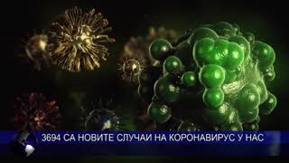 3694 са новите случаи на коронавирус у нас