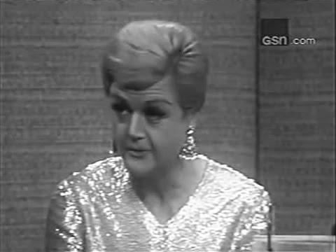 What's My Line?  Angela Lansbury; PANEL: Steve Allen, Pia Lindstrom Dec 4, 1966