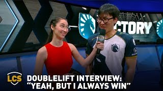 """Doublelift Interview: """"Yeah, But I Always Win."""""""