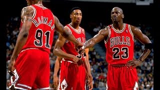 NBA Greatest Trios: Jordan, Pippen & Rodman vs Heat (1996)