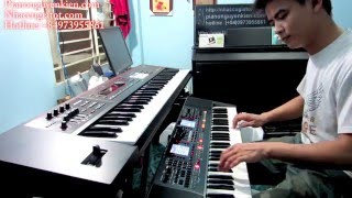 """Đàn Organ Roland E-A7 Tình Khúc """" Miền Trung Ơi """" Nguyễn Kiên"""