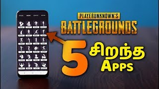 PUBG Mobile Secret Tricks App in Tamil - சிறந்த 5 PUBG Mobile App For Pubg Players