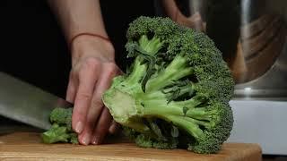 Полезный овощной суп с брокколи