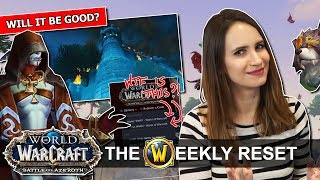 What Does The Alpha Tell Us About Battle For Azeroth Stormwind In FlamesWorld Of Warcraft News