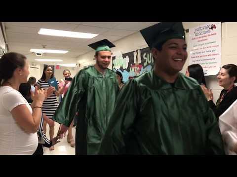 Tangier Smith Elementary School Graduation Walkthrough