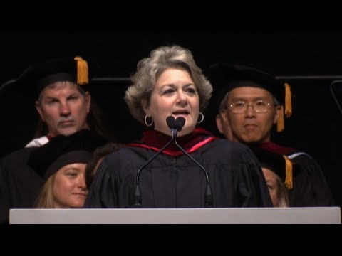 College of Communication Convocation 2017   Bonnie Arnold