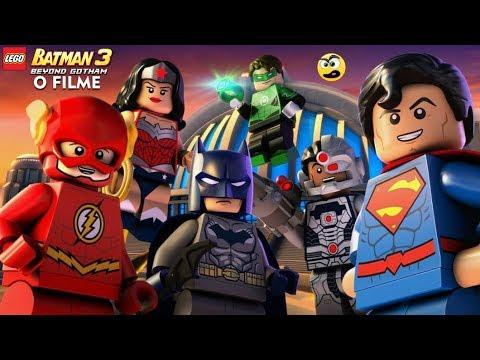 LEGO Batman 3 Beyond Gotham. O FILME  Dublado PT.BR  Caraca Games
