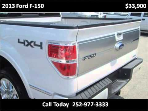 2013 ford f 150 used cars rocky mount nc youtube. Black Bedroom Furniture Sets. Home Design Ideas