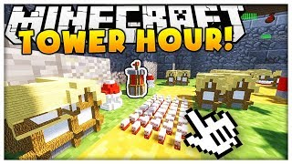 THE #1 GAME IN MINECRAFT REALMS (HAVE YOU PLAYED THIS?) - TOWER HOUR
