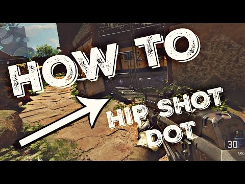 How To: Make A Hip Shot Dot For ALL FPS Games!