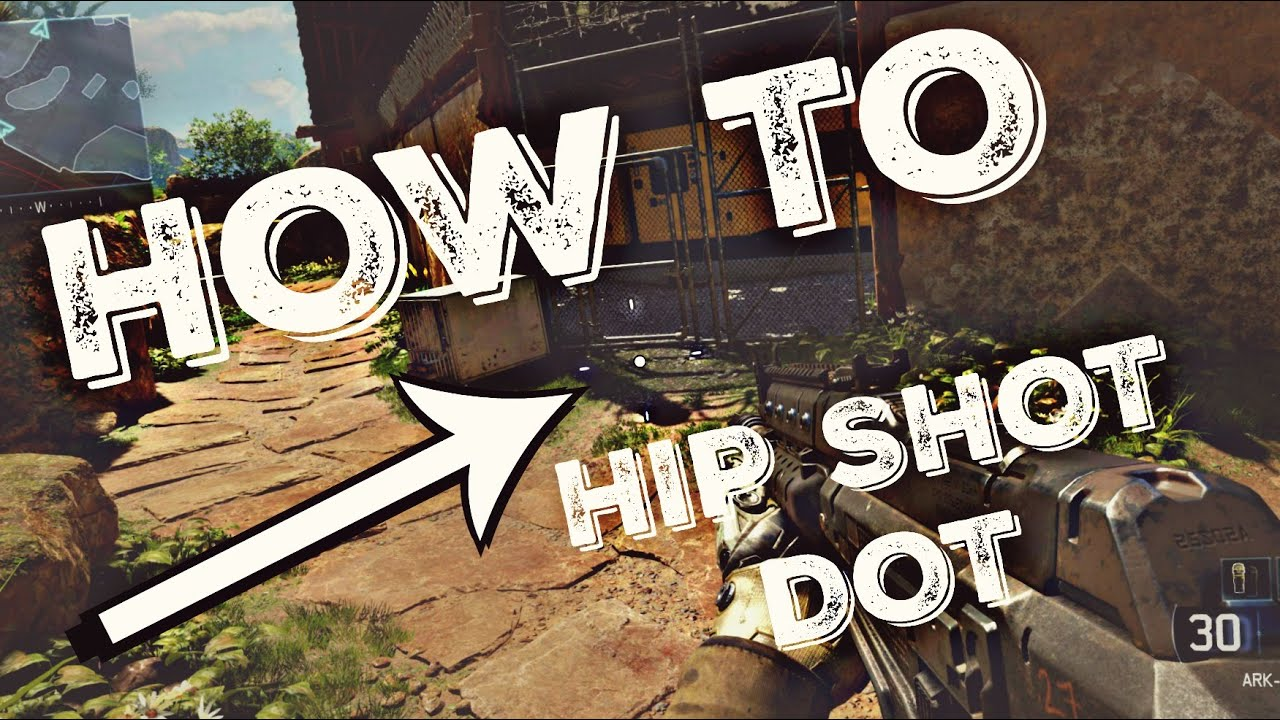 How To Make A Hip Shot Dot For All Fps Games Youtube